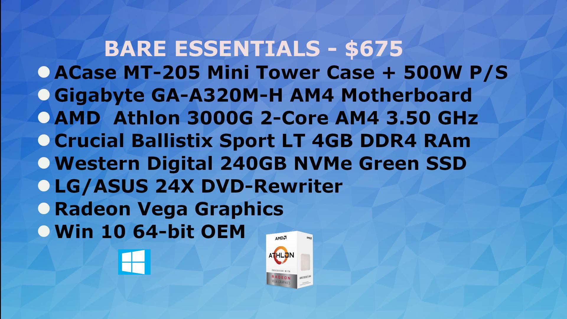 AMD Bare Essentials