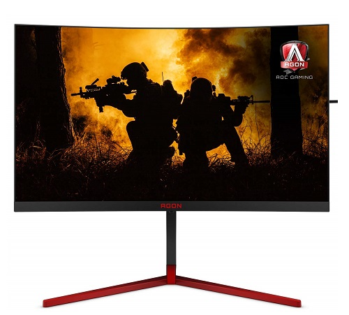 AOC AG273QCG QHD TN Gaming Monitor 165Hz Refresh Rate