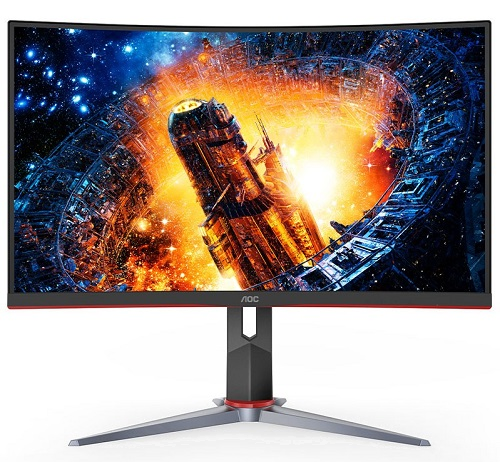 AOC CQ32G2E Curved QHD Gaming monitor 144Hz Refresh Rate