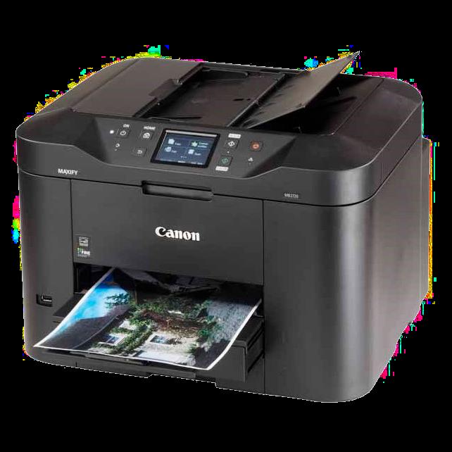Small office inkjet multifunction printer